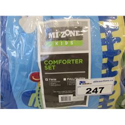 MI ZONE KIDS TWIN COMFORTER SET