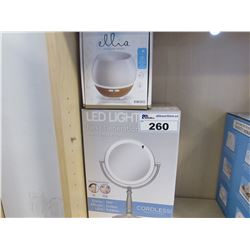LED NEXT GENERATION MAKE UP MIRROR/ELLIA DIFFUSER