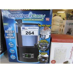 MIRACLE MIST BREATHE EASY MACHINE/SNOWFLAKE OIL DIFFUSER