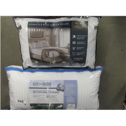 STEARNS & FOSTER STANDARD QUEEN PILLOW/SLEEP FOR SUCCESS KING SIZE PILLOW