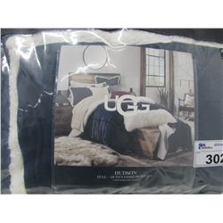 UGG HUDSON FULL QUEEN COMFORTER SET