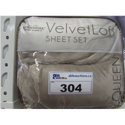 VELVET LOFT QUEEN SHEET SET