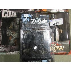 THE GOLEM/THE CROW/ROB ZOMBIE ACTION FIGURES
