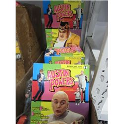 BOX AUSTIN POWERS ACTION FIGURES
