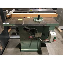 "GENERAL 10"" TABLE SAW"