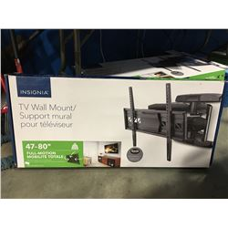 "INSIGNIA FULL MOTION TV WALL MOUNT FITS 47-80"" TV"