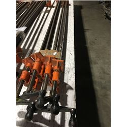 GROUP OF 4 - 4 1/2' BAR CLAMPS