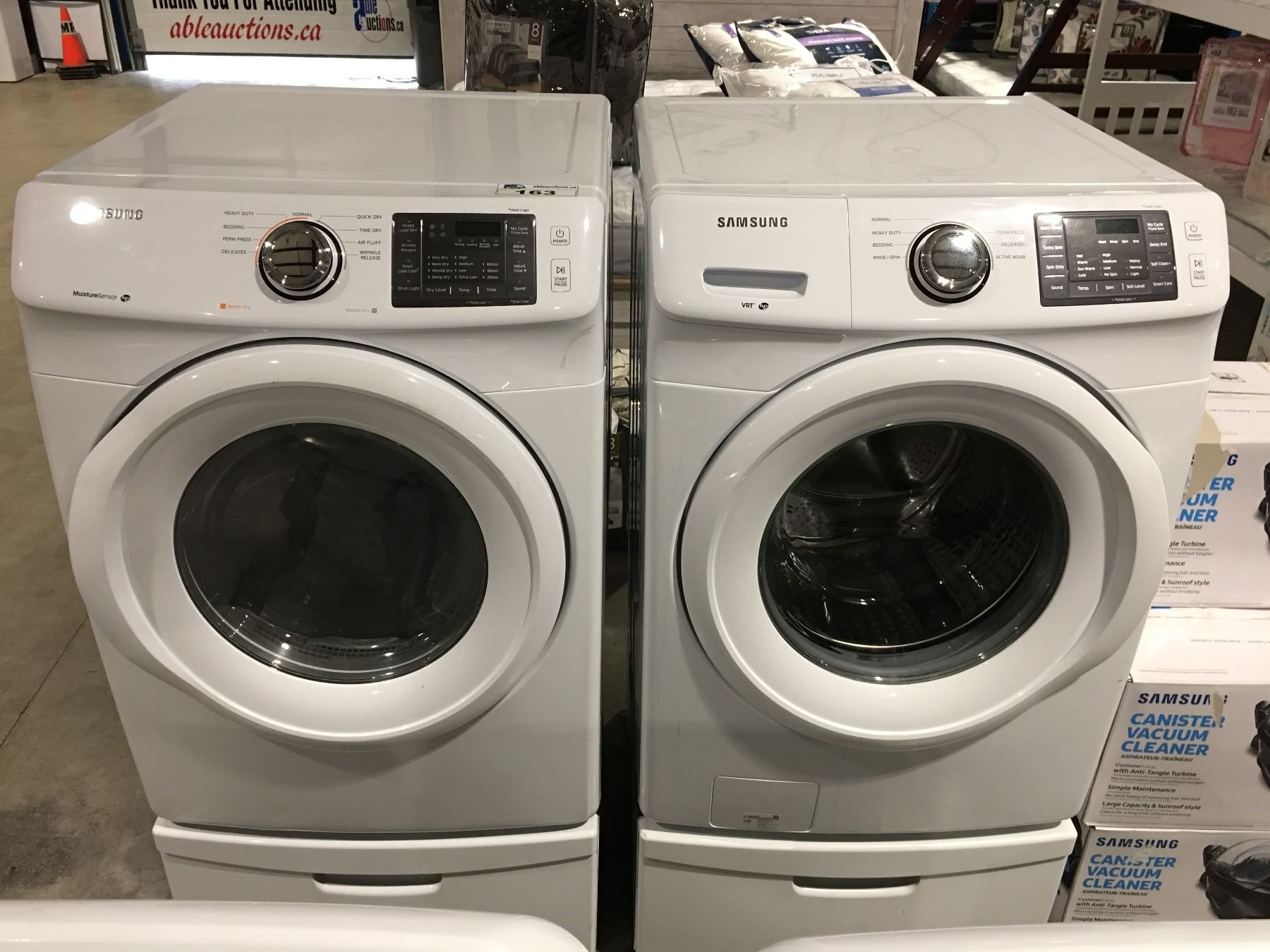 appliances pedestals brick and gas product ft laundry dryer twin lg the washer package pairs cu storage samsung pedestal wash