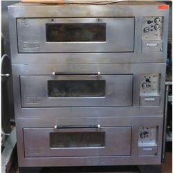 Lang Triple Electric Deck Oven