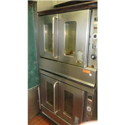 Montague Stacked Convection Oven (bottom one reportedly not working properly)