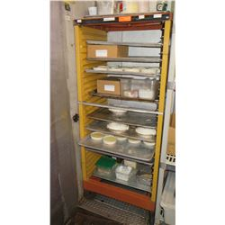 Rolling Sheet Pan Rack (Contents not included)