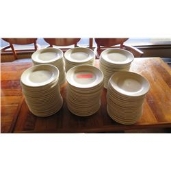 Lot of White Ceramic Salad Plates (all same size)
