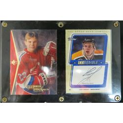 Sergei Samsonov Lot Of 2 Cards 99-00 UD Retro