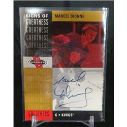 2000-01 UD Heroes Signs of Greatness #MD Marcel
