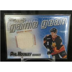 2000-01 Topps Stars Game Gear #GGPH Phil Housley