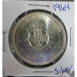 1964 Canadian Silver $1 Dollar Coin