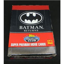 Topps Stadium Club Batman Returns Super Premium