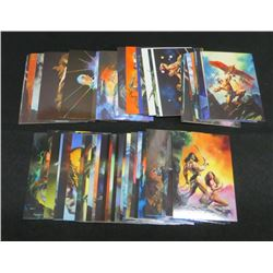 1994 Julie Bell Fantasy Art Set Of 45 Cards
