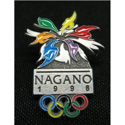 Nagano 1998 Olympics Collector Pin