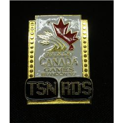 Brandon 97 TSN Canada Games Collector Pin