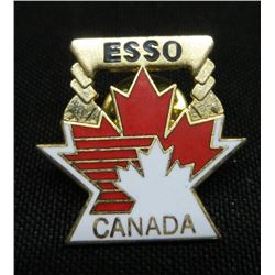 Esso Canada Maple Leaf Collector Pin