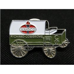 Amoco Richard Cosgrove 88 Chuck Wagon Pin