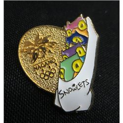 Nagano 1998 Snowlets Olympic Collector Pin
