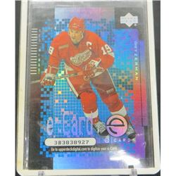 2000-01 Upper Deck e-Cards #EC3 Steve Yzerman