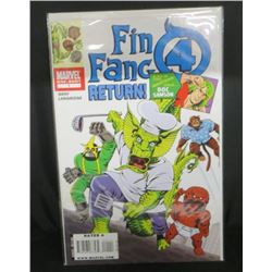 Marvel Fin Fang 4 Return #1