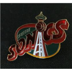 Seattle Sonics Basketball Collector Pin