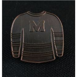 Montreal Maroons Jersey Style Collector Pin