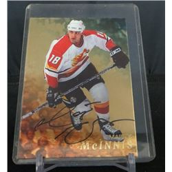 98-99 Be A Player Auto Gold #19 Marty McInnis