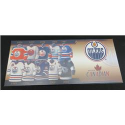 Edmonton Oilers Molson Canadian Through the Years