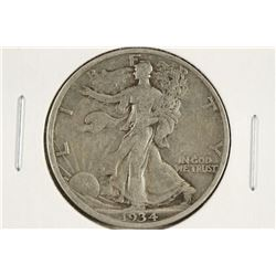 1934-D WALKING LIBERTY HALF DOLLAR