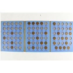 2 PARTIAL LINCOLN CENT ALBUMS 1909-40 (30 COINS) &