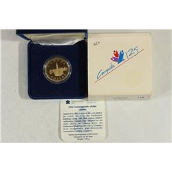 1992 CANADA COMMEMORATIVE DOLLAR PROOF