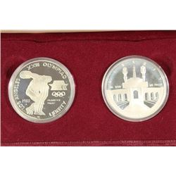 1983 & 1984-S OLYMPIC 2 SILVER DOLLAR PROOF SET