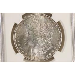 1896 MORGAN SILVER DOLLAR NGC MS64