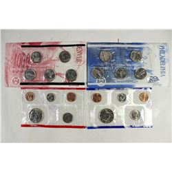 1999 US MINT SET (UNC) P/D (WITH ENVELOPE)