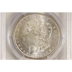 1902-O MORGAN SILVER DOLLAR PCGS MS64