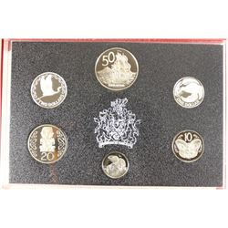 1990 NEW ZEALAND 6 COIN PROOF SET