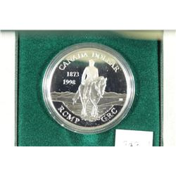 1998 CANADA STERLING SILVER PROOF DOLLAR
