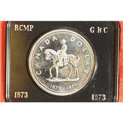 1973 CANADA R.C.M.P SILVER DOLLAR PROOF