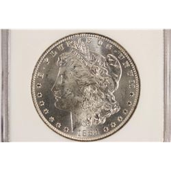 1884-O MORGAN SILVER DOLLAR NGC MS63