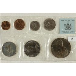1969 NEW ZEALAND SPECIAL COIN ISSUE SET