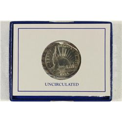 1986-D STATUE OF LIBERTY UNC HALF DOLLAR