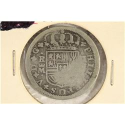 1720 SPAIN SILVER 2 REALES