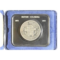 1971 CANADA BRITISH COLUMBUS $ (PF LIKE)