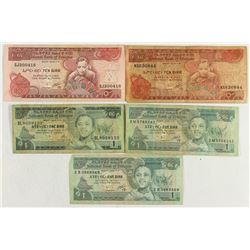 ETHIOPIA 3-1 & 2-10 BIRRS CURRENCY