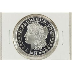 2014 1 TROY OZ .999 FINE SILVER PROOF ROUND